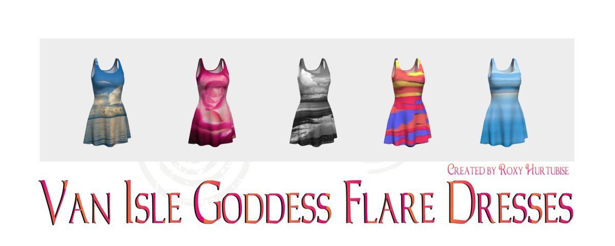 VanIsleGoddess Flare Dressses